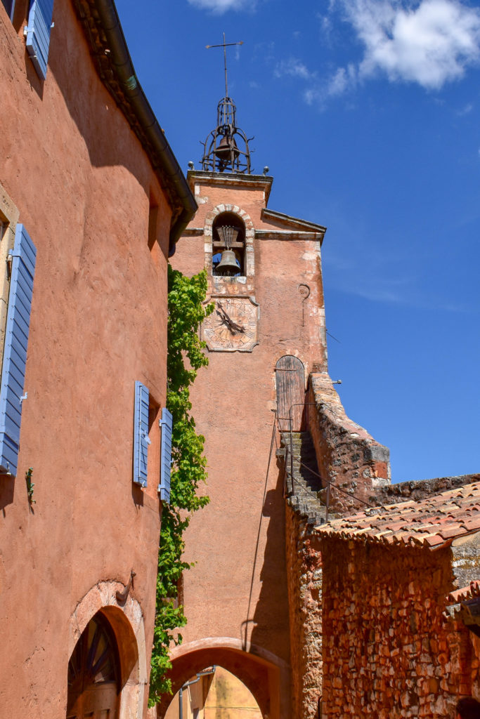 Le clocher de Roussillon