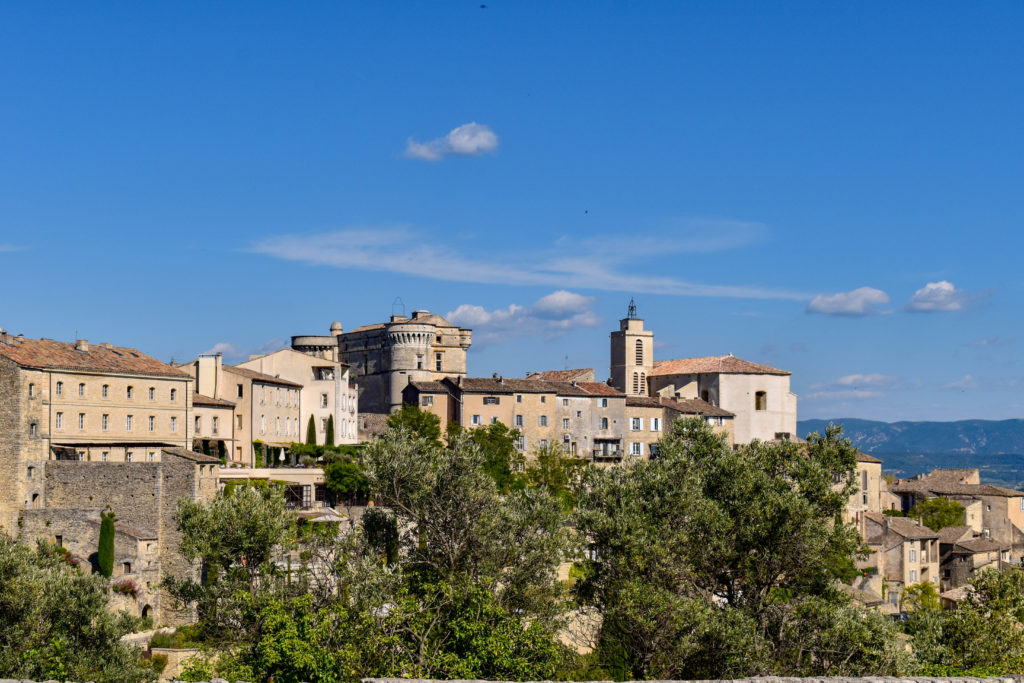 Panorama du village de Gordes