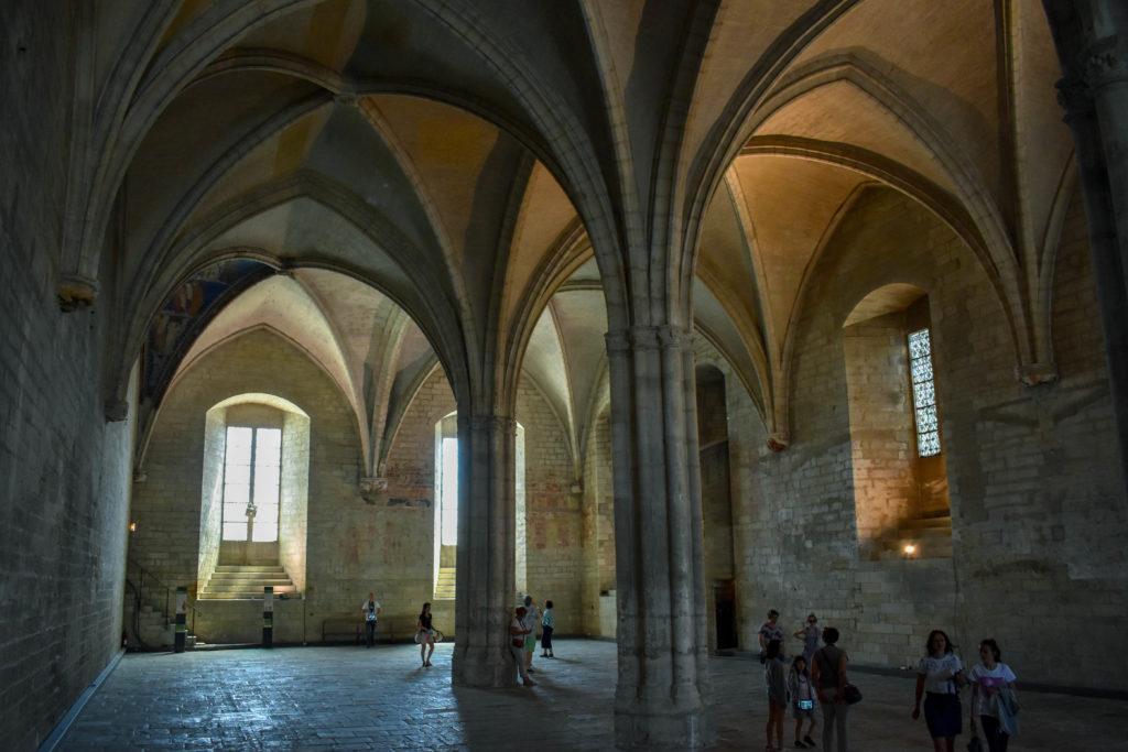 Le palais des papes Avignon