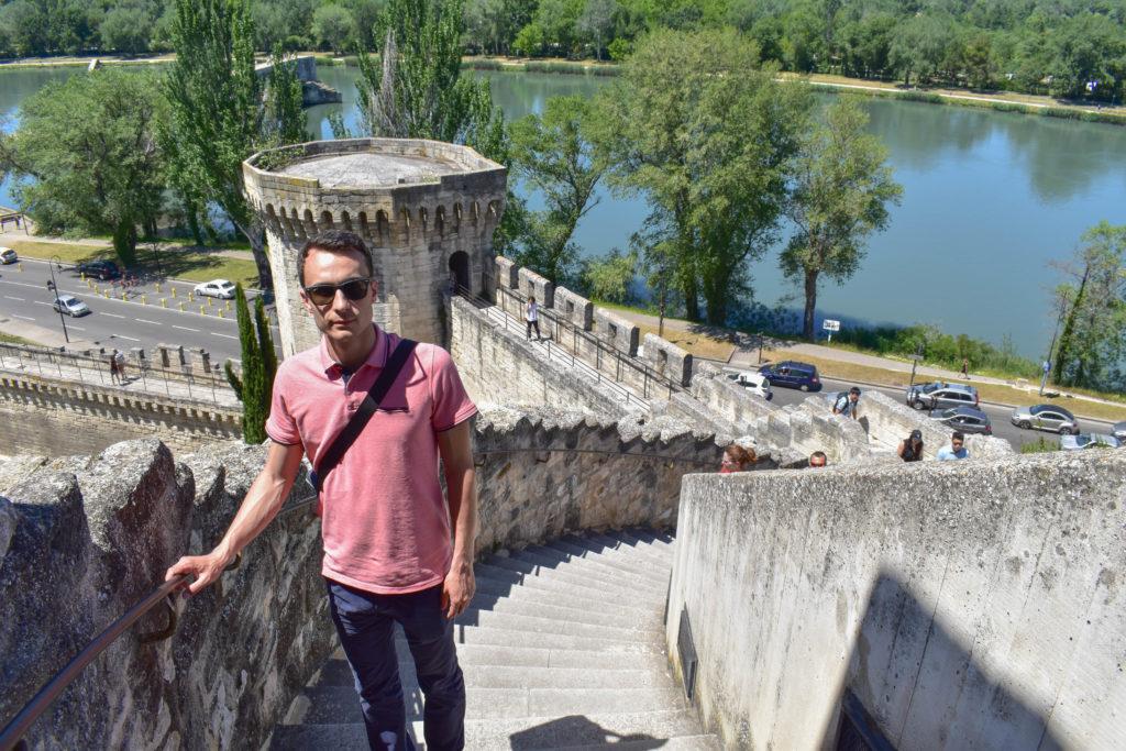 Le pont d'Avignon et les remparts