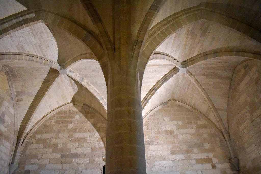 Voûte au palais des papes Avignon